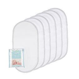 TILLYOU Soft Flannel Changing Pad Liners Waterproof, Washabl