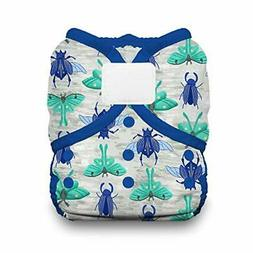 Thirsties Duo Wrap Cloth Diaper Cover, Hook and Loop Clos Si