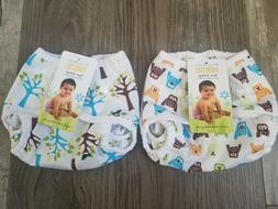 Thirsties Duo Wrap Cloth Diaper Cover Snap Closure Size One