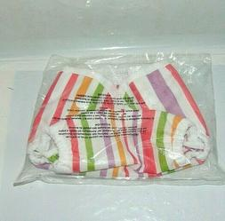 Thirsties Duo Wrap Diaper Cover Size One Striped 6 to 18 Pou