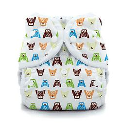 Thirsties Duo Wrap Snap Cloth Diaper Cover in HOOT