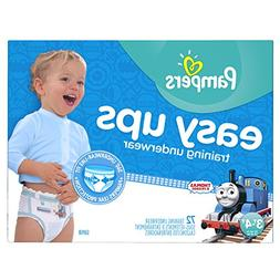 Pampers Boys Easy Ups Training Underwear, 3T-4T , 72 Count