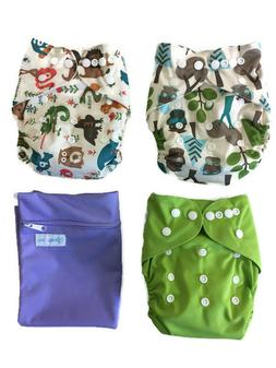 Echo Friendly Diapers- Bamboo Terry Reusable Cloth Diaper Wi