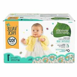 Seventh Generation Free & Clear Diapers, Size 1 44140