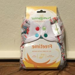 bumGenius Freetime AIO Cloth Diaper - Play - limited edition