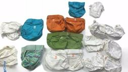 Gdiapers G Diapers Cloth Diaper Lot Of 9 Diapers & 9 Inserts