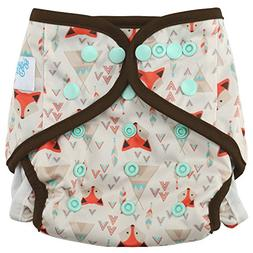 "HappyEndingsTM One Size Cloth Diaper Cover AI2 System ""Triba"