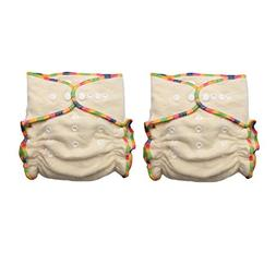 Hemp / Organic Cotton Fitted Cloth Diapers