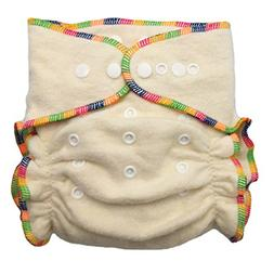 Hemp/Organic Cotton Fitted Cloth Diapers