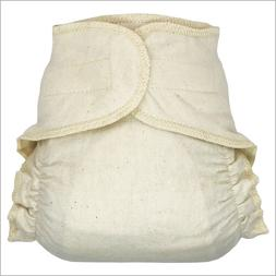 hook and loop cotton fitted cloth diapers