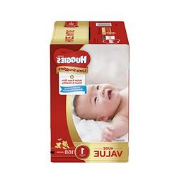 HUGGIES Little Snugglers Baby Diapers, Size 1, 168 Count