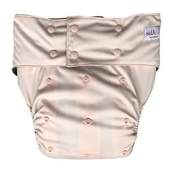 EcoAble Incontinence Cloth Diaper with Insert Pad, Teen & Ad