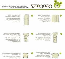 OsoCozy - Indian Cotton - Unbleached Prefold Cloth Diapers