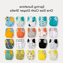 KaWaii One Size Baby Cloth Diaper Leakproof Reusable Washabl