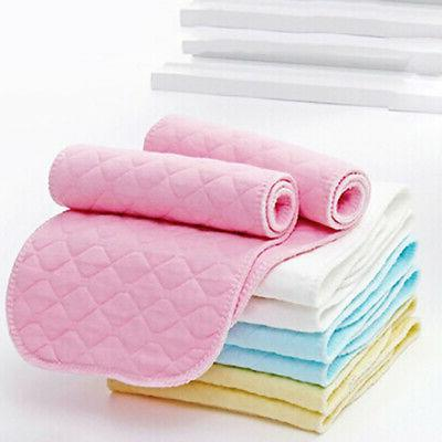 Reusable Baby Diapers Cloth Diaper Inserts 10 Piece 3 Layer