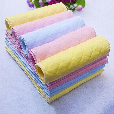 10 Reusable Baby Diapers Diaper 3 Layer Washable