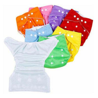 5 Reusable Washable Baby Cloth Diaper