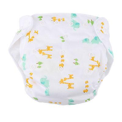 5 PCS+5 Cloth Diapers Reusable Baby
