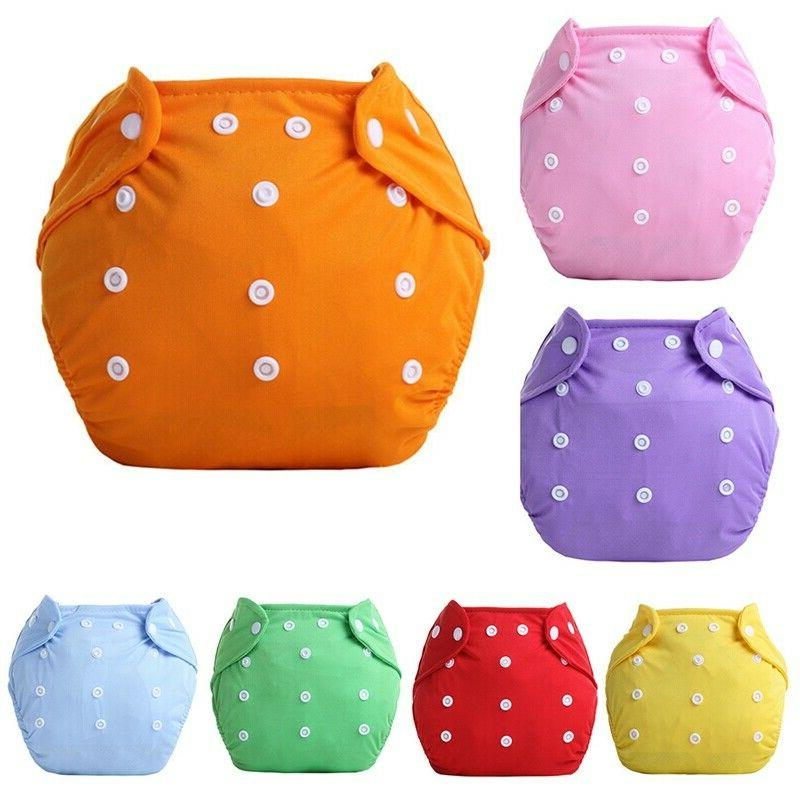 5PCS+5 Inserts Lot Adjustable Reusable For Baby