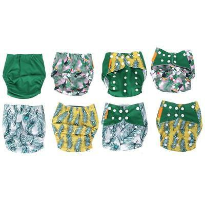 7 Nappy Reusable Adjustable Infant Baby Boy Pants