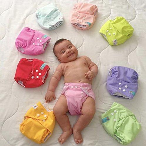 ALVABABY Pocket for Less Than 12pounds Diaper 6pcs 6SVB03