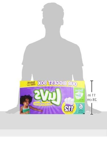Luvs With Diapers, 6, Count