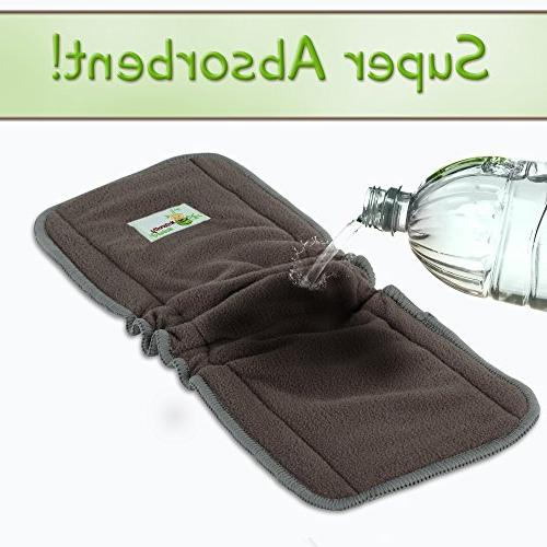 Naturally Cloth Inserts Layer insert Reusable Liners INCLUDES