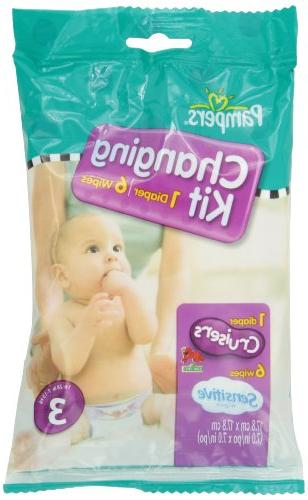 Pampers Cruisers Changing Kit, Size 4, Unscented,