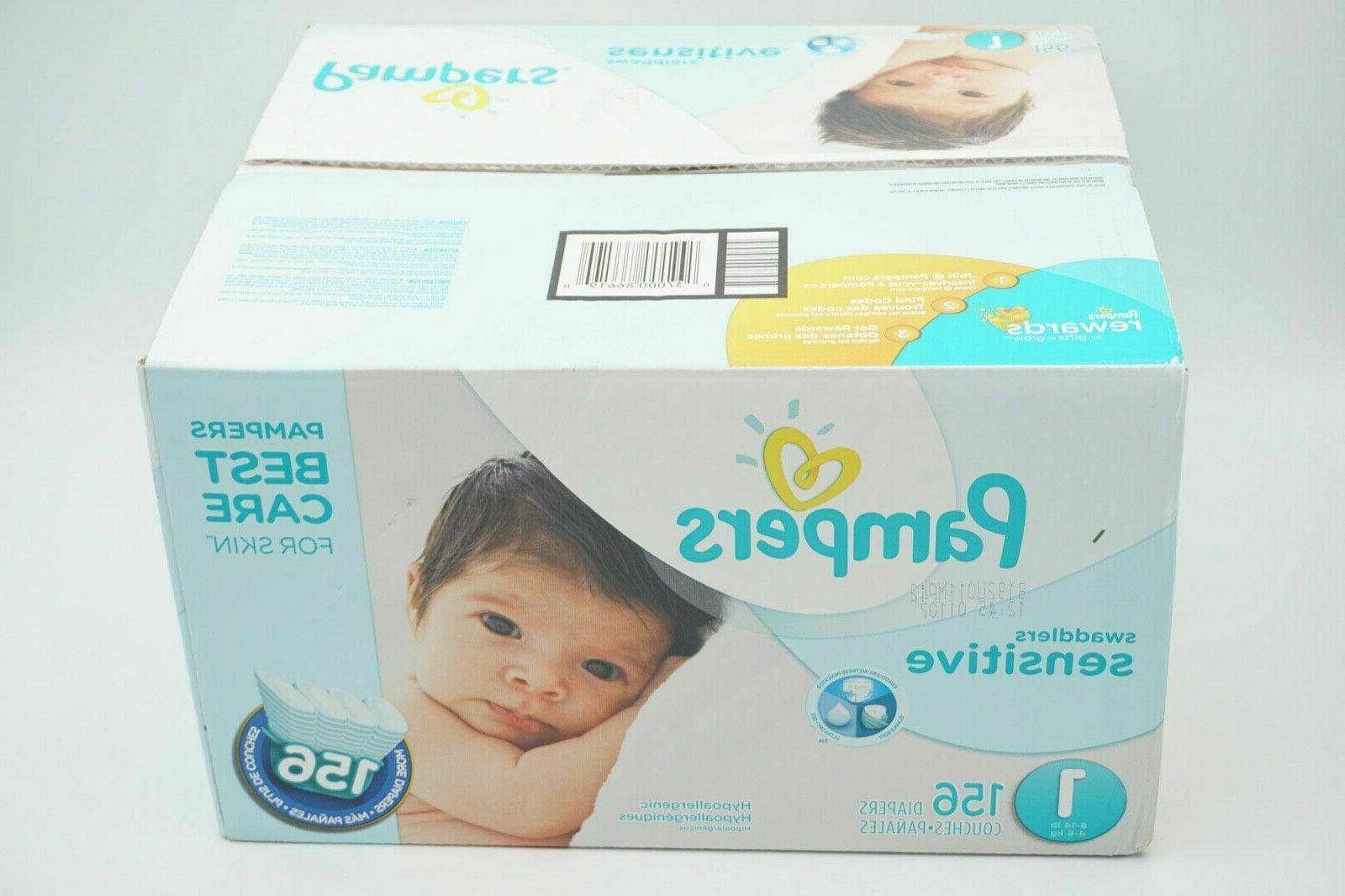 Pampers Sensitive Baby 108 Count, SUPER