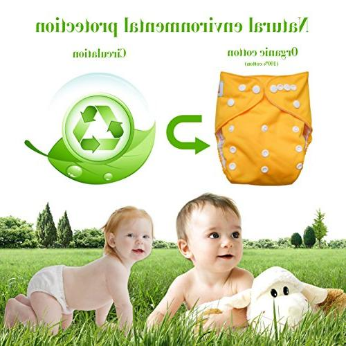 LBB Size Reusable Pocket Diapers for Baby and Cute