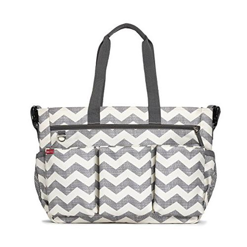 Skip Hop Duo Double Signature Carry All Travel Diaper Bag To
