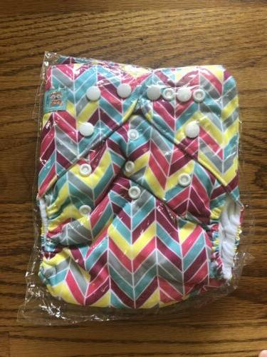 ALVA Cloth In One Diapers of 4