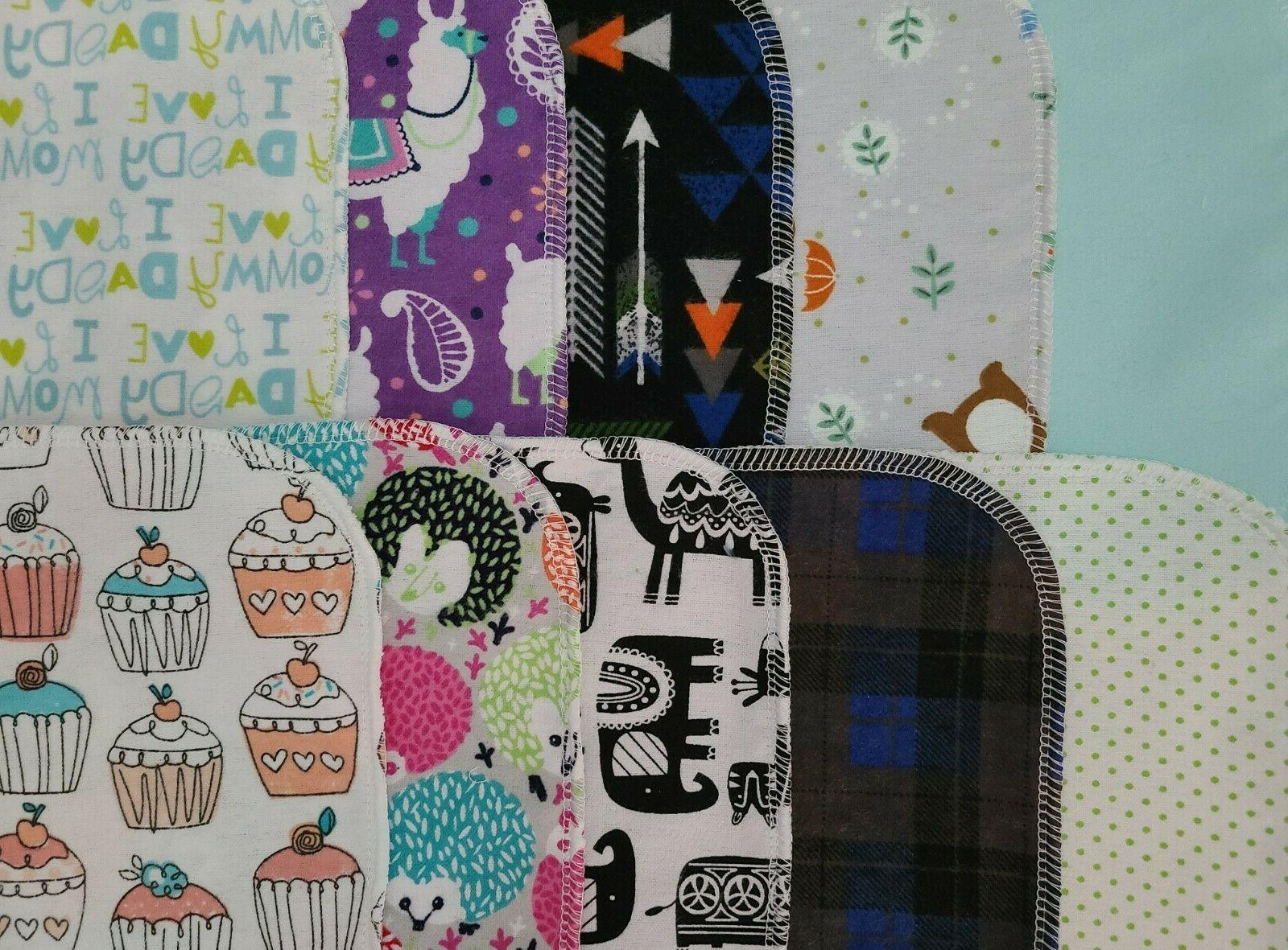 Assorted Wipes Baby Flannel Napkin or Ply