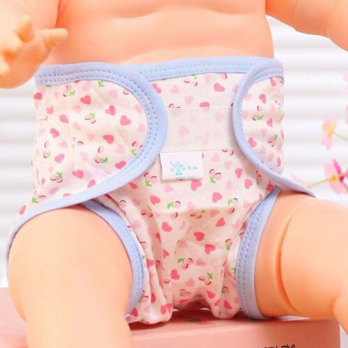baby accessories cute cartoon printed cotton diapers