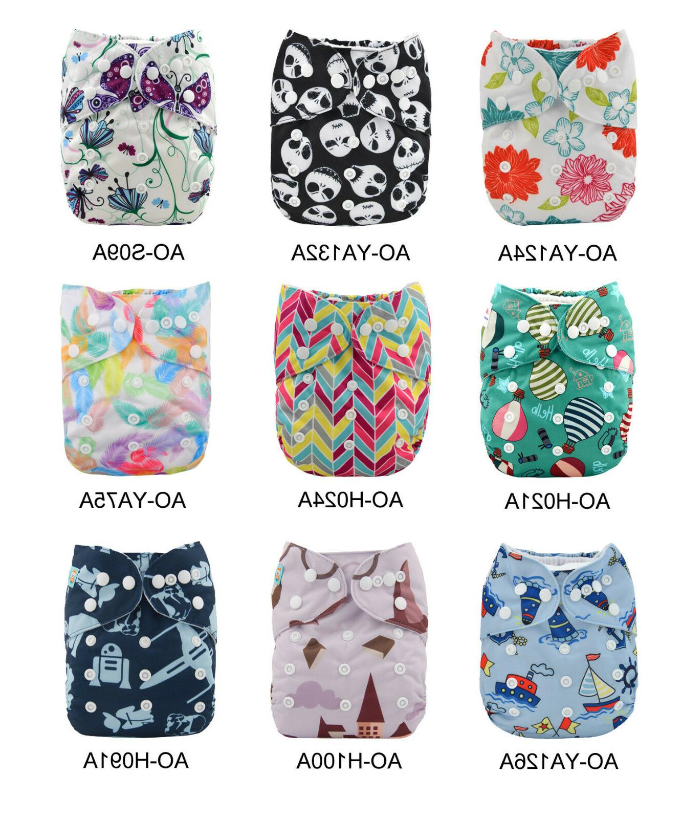 baby all in ones cloth diapers reusable