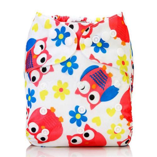 Baby Alva Baby Washable Reusable Cloth Diapers Nappies Pocket Size