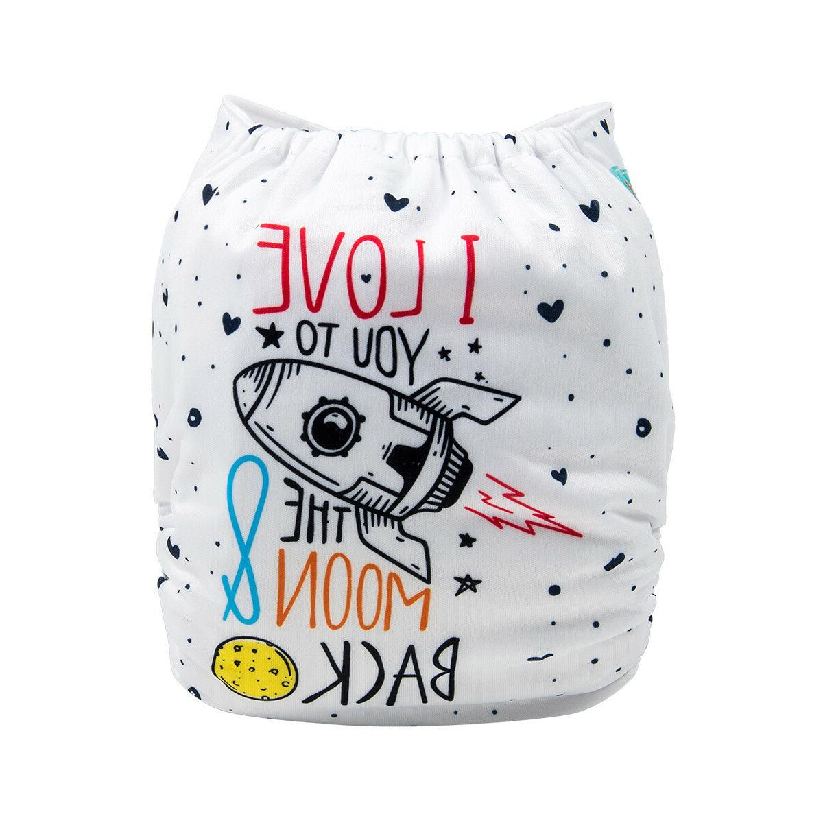 baby cloth diapers one size reusable washable
