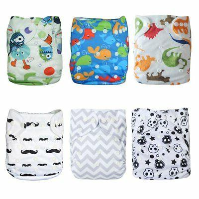 baby cloth diapers pocket washable adjustable reusable