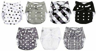 Baby 7 Pack, 7 Inserts, 1 Wet Bag by