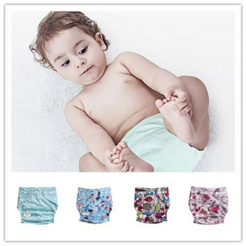 Washable Baby Reusable Cloth Diapers One Size TPU Pocket Nap