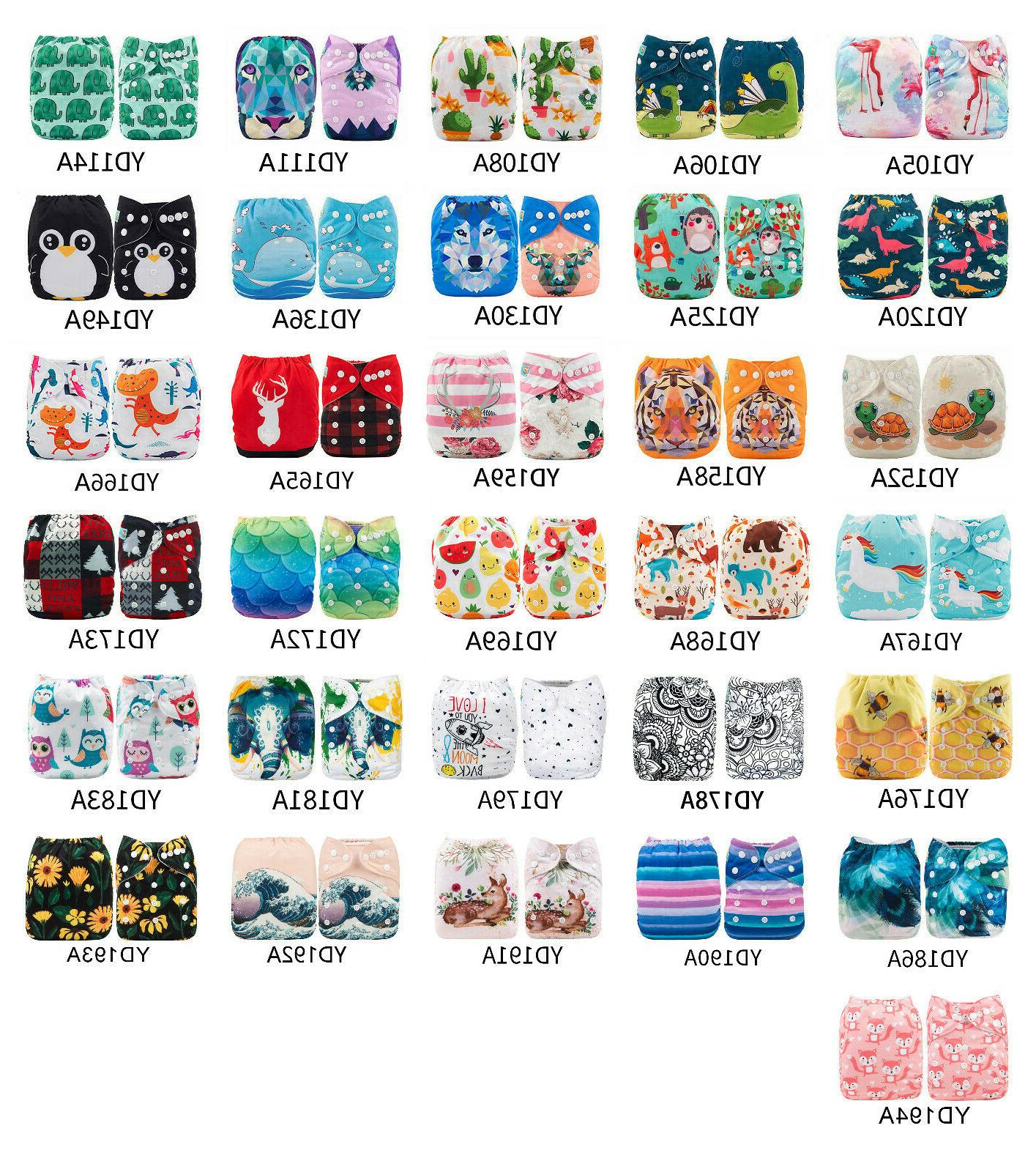 baby reusable cloth diapers one size washable