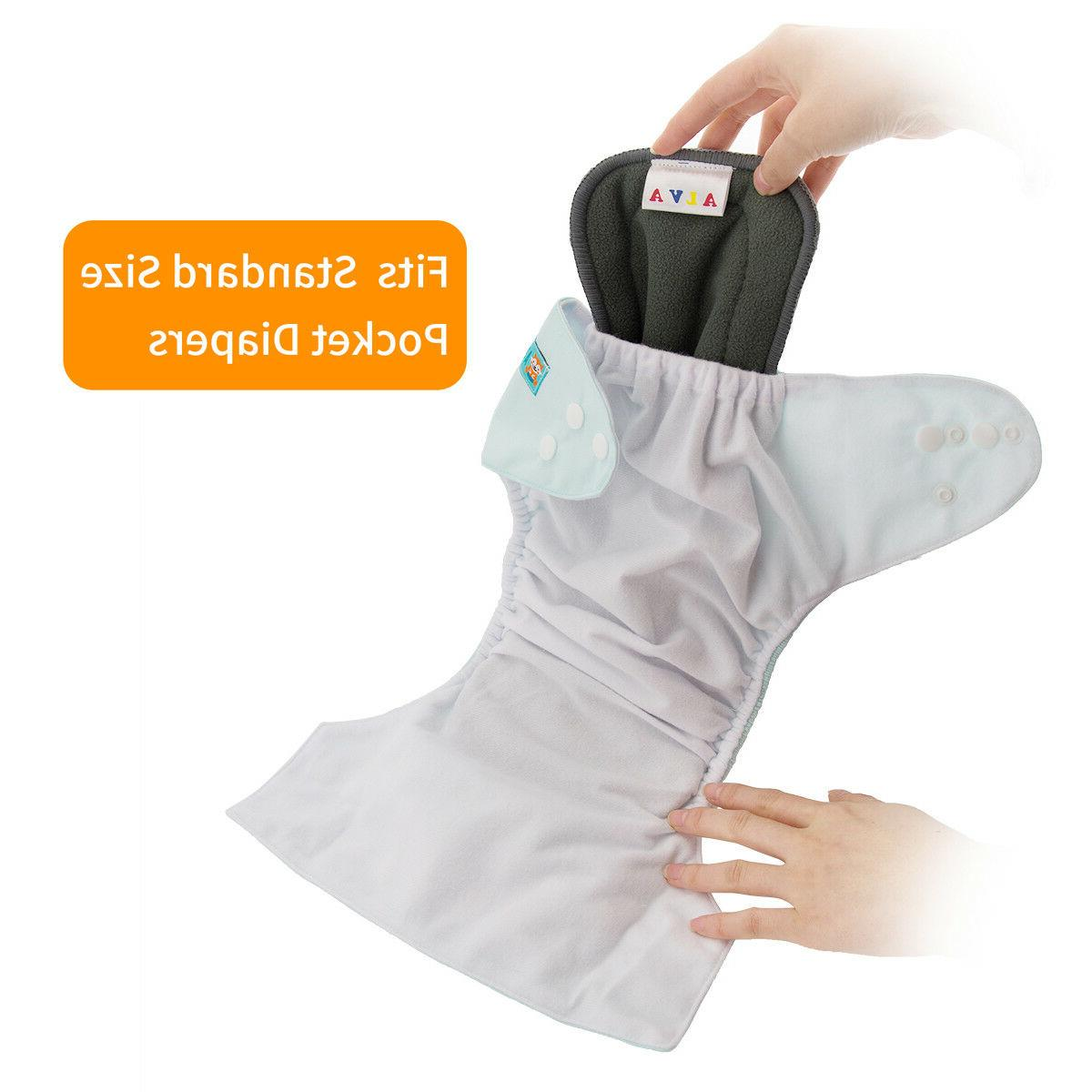 ALVABABY Diapers One Size Pocket