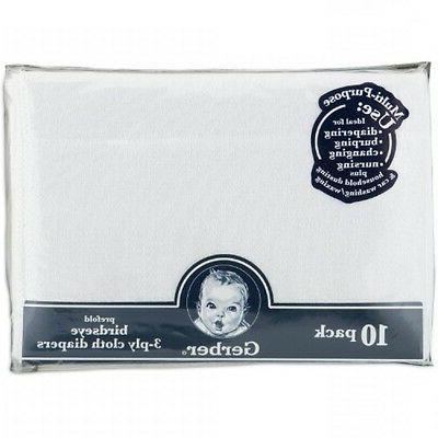 Gerber 10 3-Ply White, Clothes