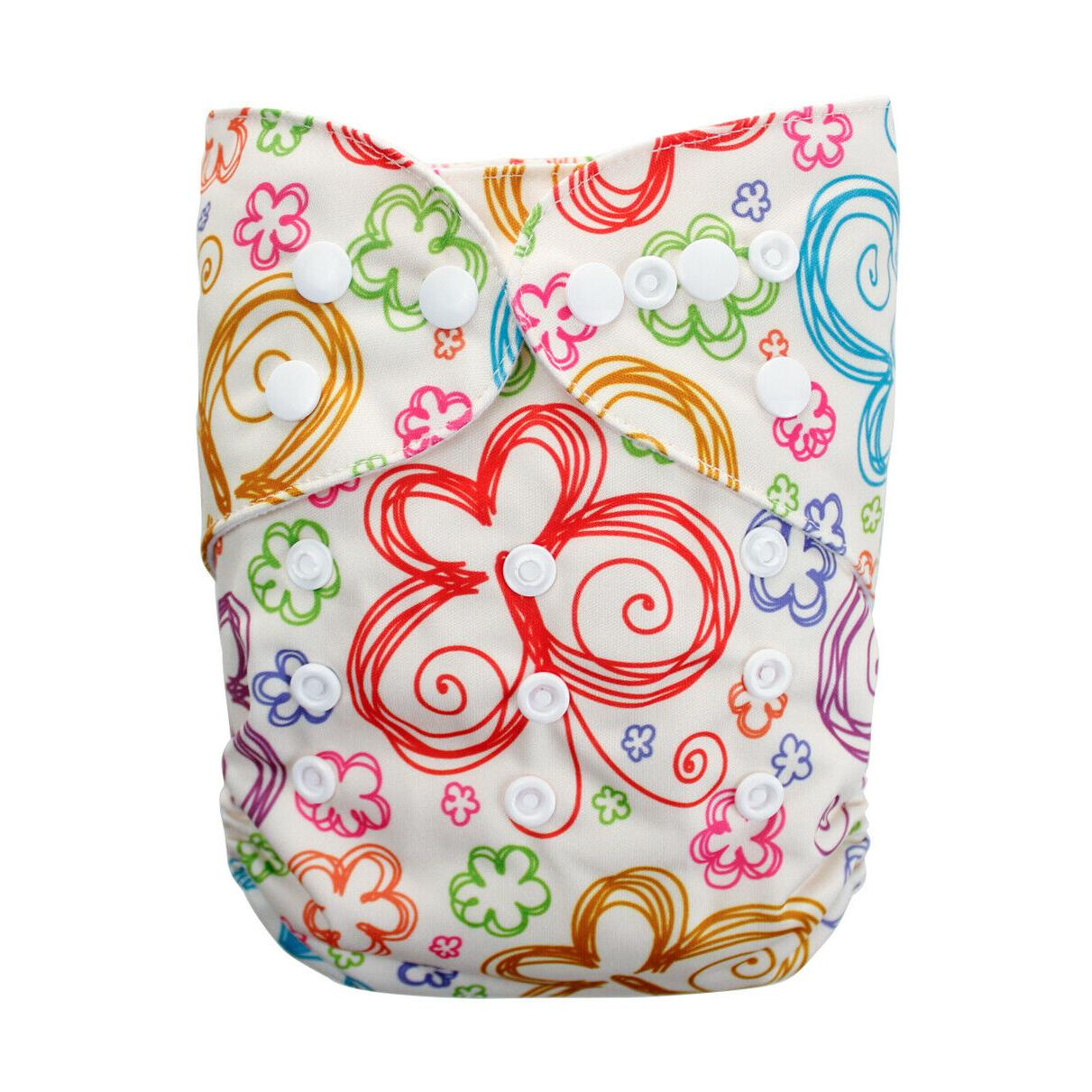 Cathybaby Reusable Washable Baby Cloth Diapers Pocket With Optional Insert
