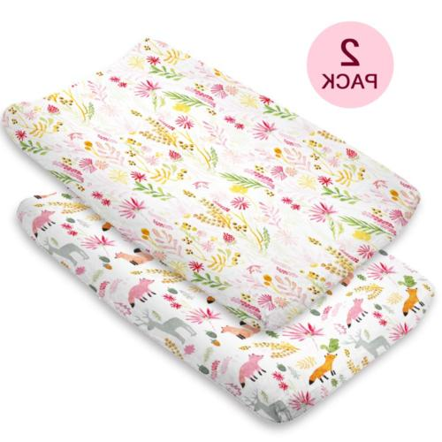 Changing Pad Cover Girl or Boy Baby Changing Table Cover Bab