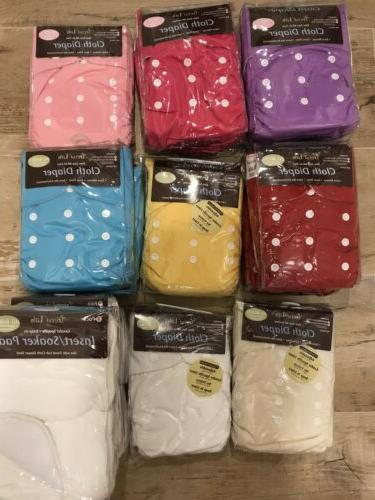 cloth diapers lot all in two ai2