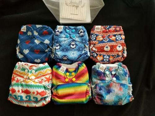 Cloth Stay Dry Pocket Diapers & Inserts 6