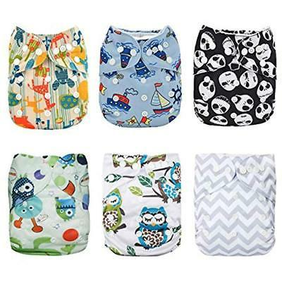 covers baby 6pcs pack fitted pocket cloth