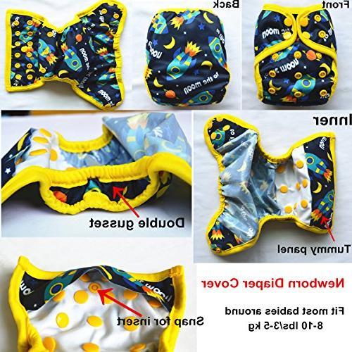Sigzagor Baby Diaper Nappy Cover
