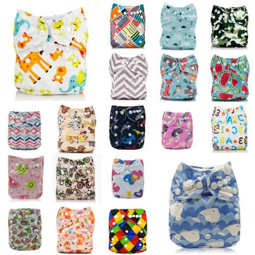 Diapers Nappy Diapers One Cloth Pocket Bamboo